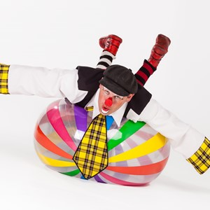 Sinterklaas entertainment: clownshow huren