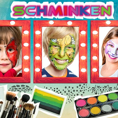 Kinder entertainment: schminken