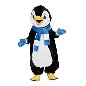 pinguin winter dier mascotte