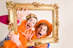 Oranje Entertainment-team 4 acteurs