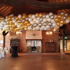 Ballonnen decoraties: Ballonnen dropping