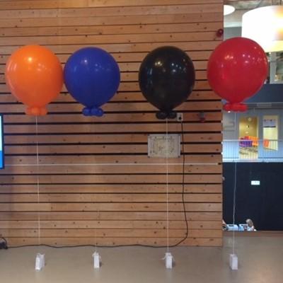Ballon decoraties: Cloud buster