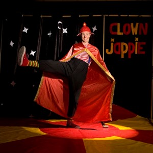 Sinterklaas entertainment: show clown Jappie huren